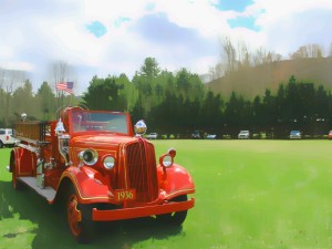 1936 Lexington Fire Truck
