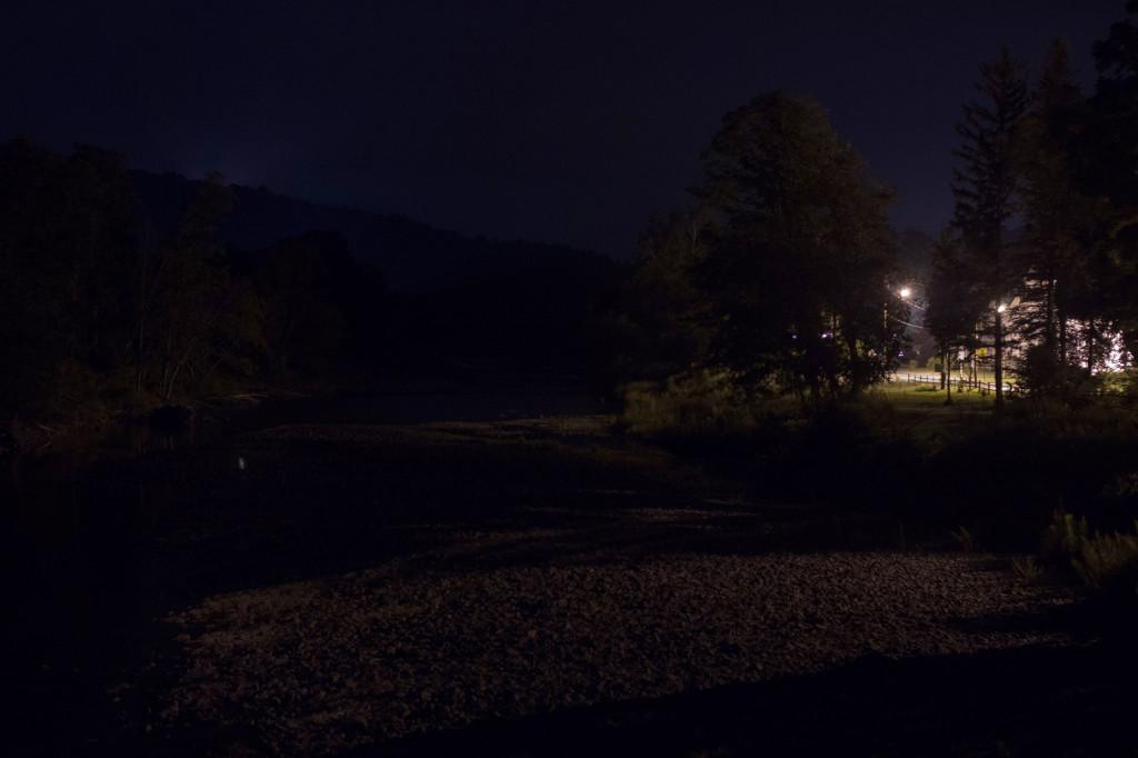 Schoharie Creek at Midnight