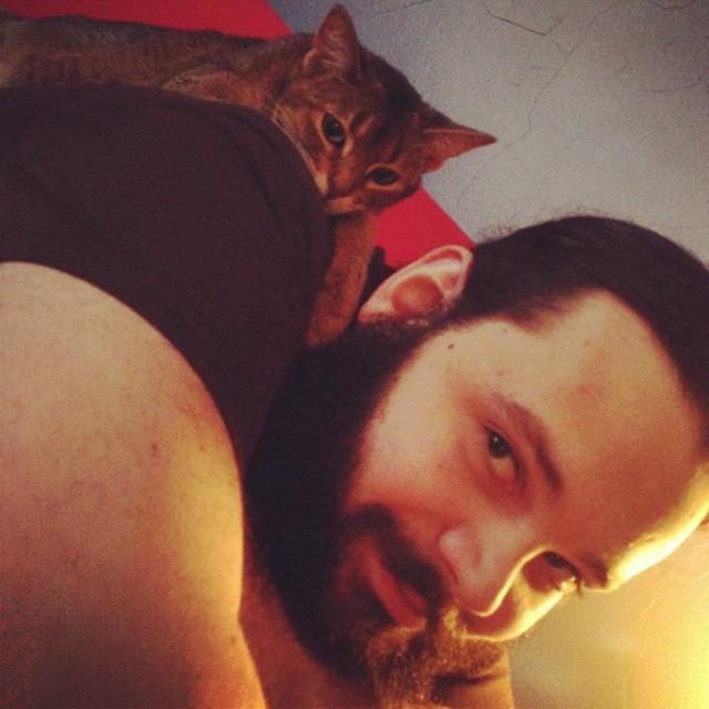 Matt and Kitty