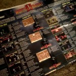 This is a Mortal Kombat II reference poster. It has all the moves for every home console (of the time).