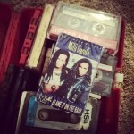 Found a lunchbox full of cassette tapes.