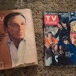 TV Guides from 1977 and 1967 (from left to right).